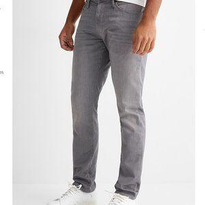 Mavi Jake Slim-Fit Grey Jeans